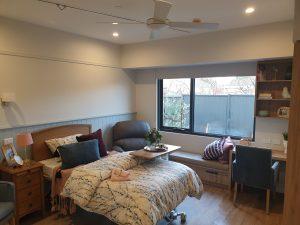 EN9 Alrick king single bed with Kensington headboard
