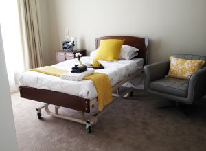 Kensington Alrick bed in an aged care facility